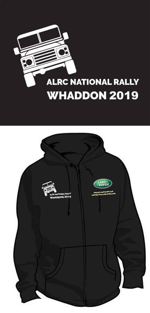 ALRC National Rally Clothing 2019