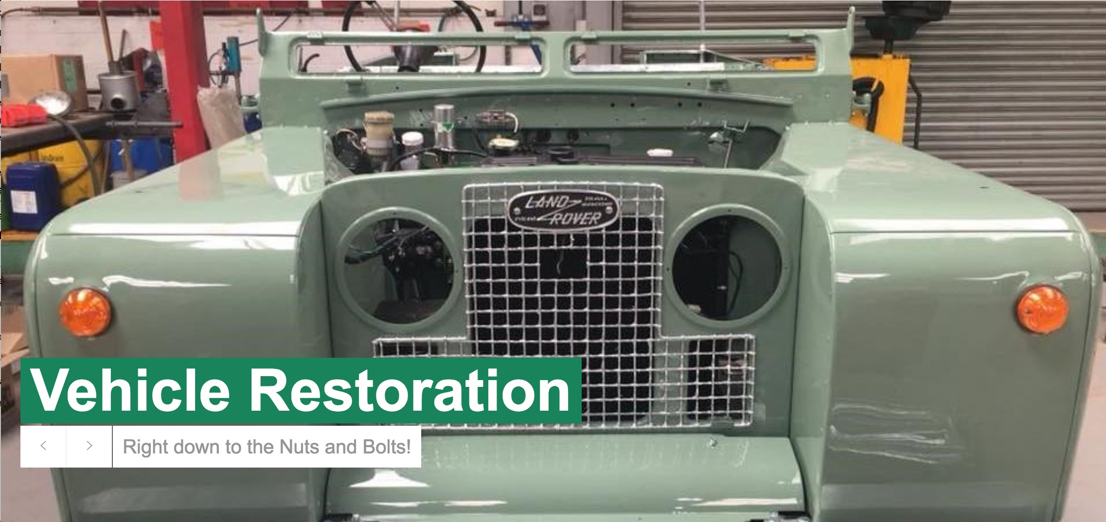 Hobson Industries vehicle restoration services