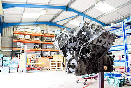 NWS JLR engine reconditioning and remanufacture
