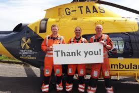 Air Ambulance donations 2018